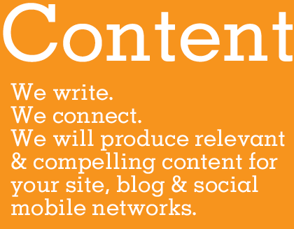Social Media Mobile Content